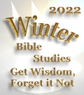 2018 Winter Bible Studies